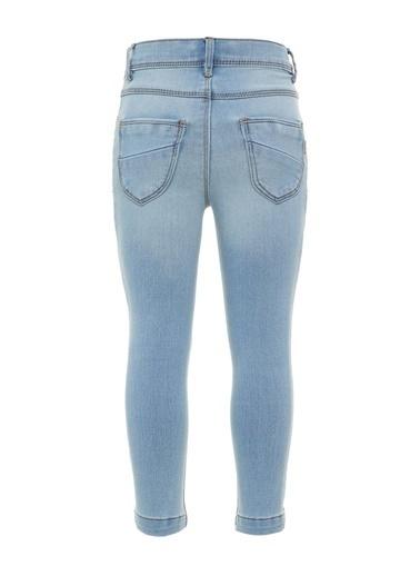 Name It Name it Kız Çocuk Organik Pamuk Jean Pantolon Renkli